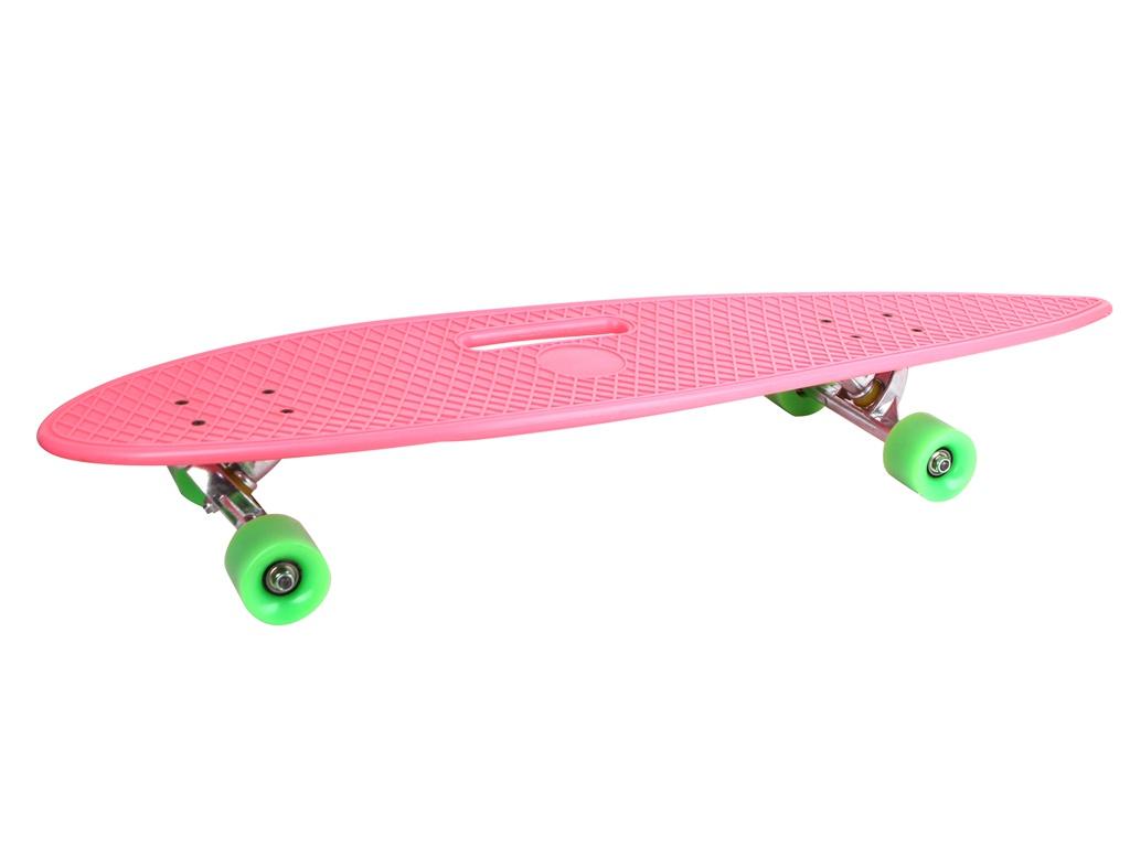 Скейт Ateox FTS004 Pink
