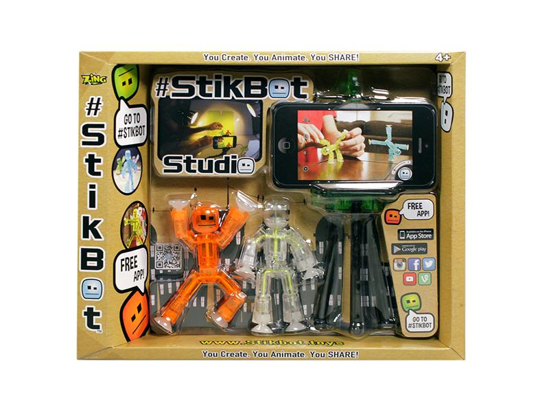 Игрушка Zing Stikbot Студия TST615
