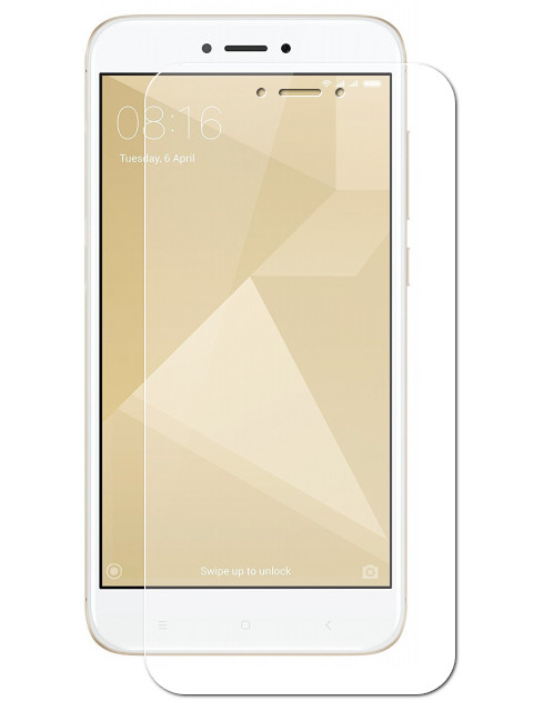 Аксессуар Защитная пленка LuxCase для Xiaomi Redmi Go суперпрозрачная 56834 защитная пленка luxcase apple iphone 6 7 8 plus суперпрозрачная