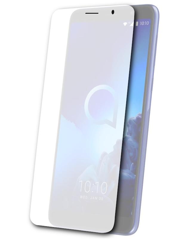 Аксессуар Защитная пленка для Alcatel 1X 5008Y LuxCase На весь экран Transparent 88560 аксессуар защитная пленка luxcase для huawei y7 2019 на весь экран transparent 89213