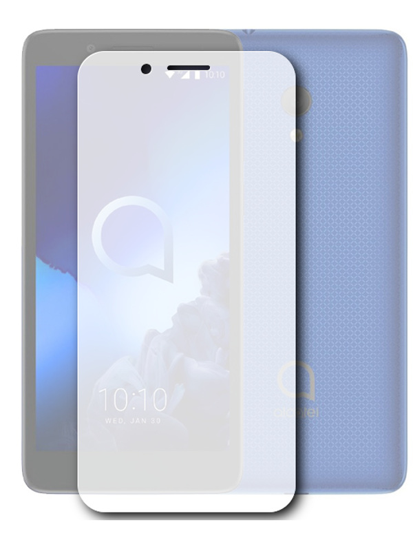 Аксессуар Защитная пленка для Alcatel 1C 5003D 2019 LuxCase суперпрозрачная 56746 luxcase защитная пленка для microsoft lumia 650 суперпрозрачная