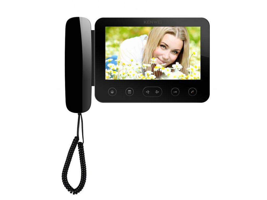 Видеодомофон Kenwei KW-E705FC-W200 Black