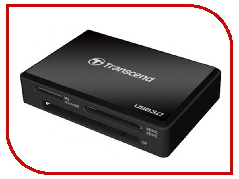 Карт-ридер Transcend RDF8K USB 3.0 Black TS-RDF8K2
