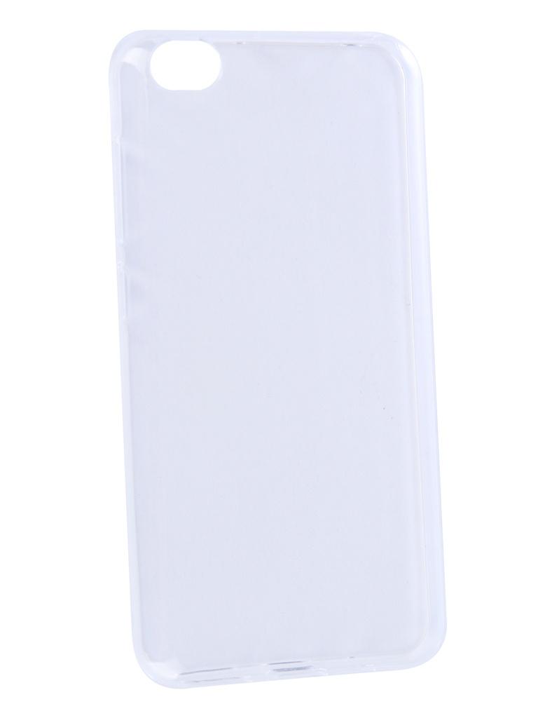 Аксессуар Чехол Zibelino для Xiaomi Redmi Go 2019 Ultra Thin Case Transparent ZUTC-XMI-RDM-GO-WHT аксессуар чехол zibelino для xiaomi mi8 lite ultra thin case transparent zutc xia mi8lt wht