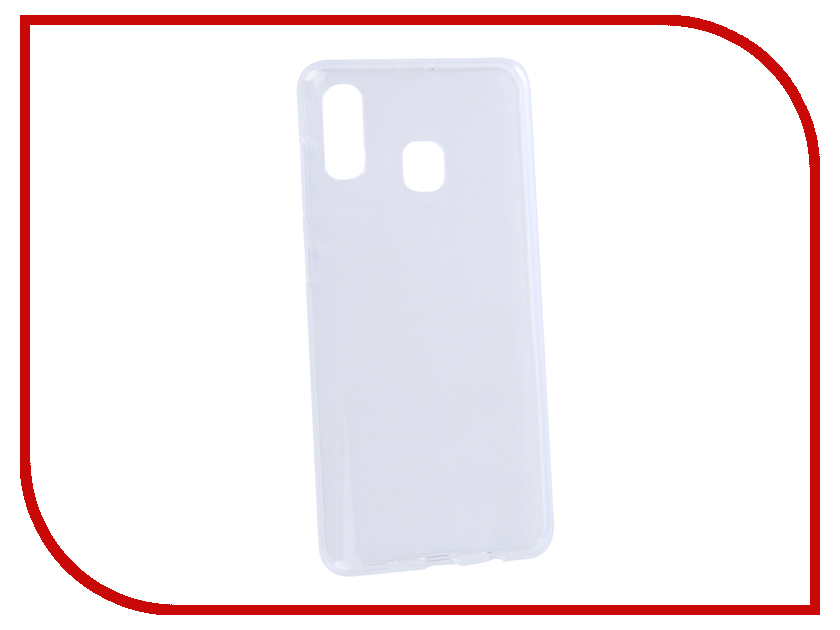 Аксессуар Чехол для Samsung A30 Galaxy A305 2019 Zibelino Ultra Thin Case Transparent ZUTC-SAM-A305-WHT аксессуар чехол samsung j3 2017 j330f zibelino clear view black zcv sam j330 blk