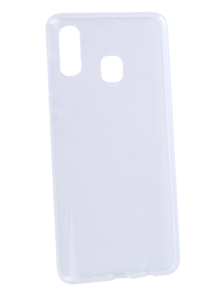 Чехол Zibelino для Samsung A30 Galaxy A305 2019 Ultra Thin Case Transparent ZUTC-SAM-A305-WHT