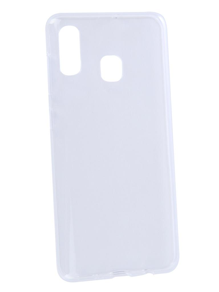 Аксессуар Чехол Zibelino для Samsung A30 Galaxy A305 2019 Ultra Thin Case Transparent ZUTC-SAM-A305-WHT