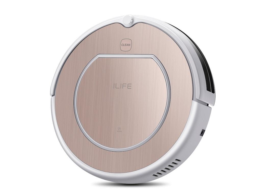 Робот-пылесос iLife V50 Pro Rose Gold
