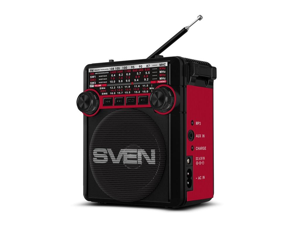 цена на Радиоприемник SVEN SRP-355 Red