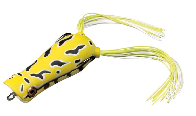 Воблер Daiwa Steez Popper Frog Yellow Toad 07430133 lobel a frog and toad квак и жаб 3 4 классы