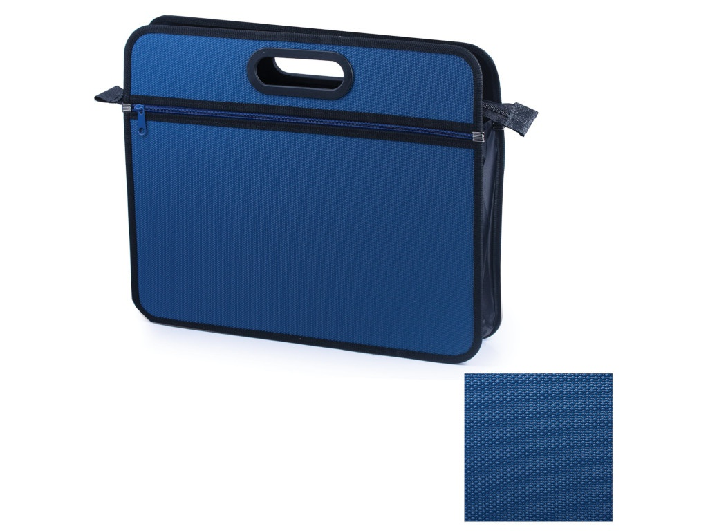 Папка Brauberg A4+ 390х315х70mm Blue 225167