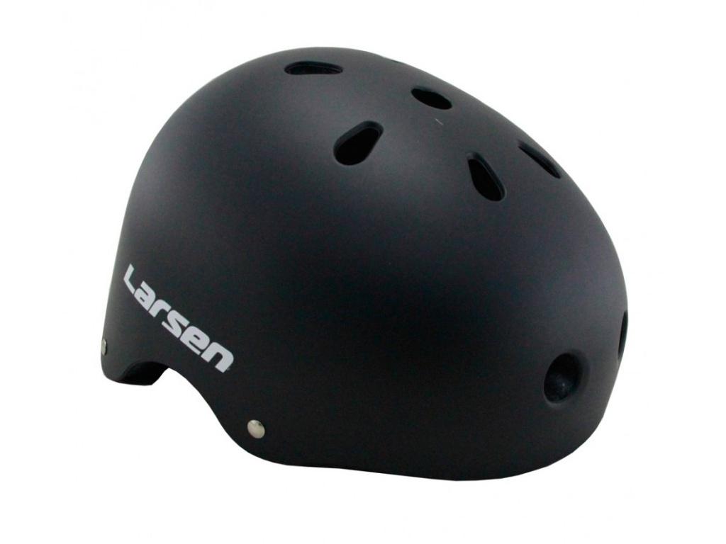Шлем Larsen Special H4 Размер S (52-54cm) Black гантель цельнолитая larsen nt161