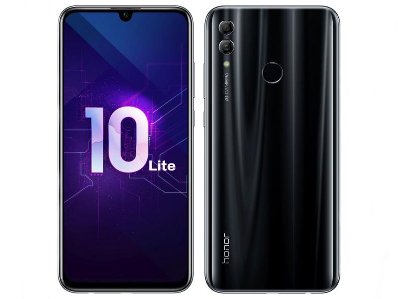 Сотовый телефон Honor 10 Lite 3/64Gb Black New Выгодный набор + серт. 200Р!!!