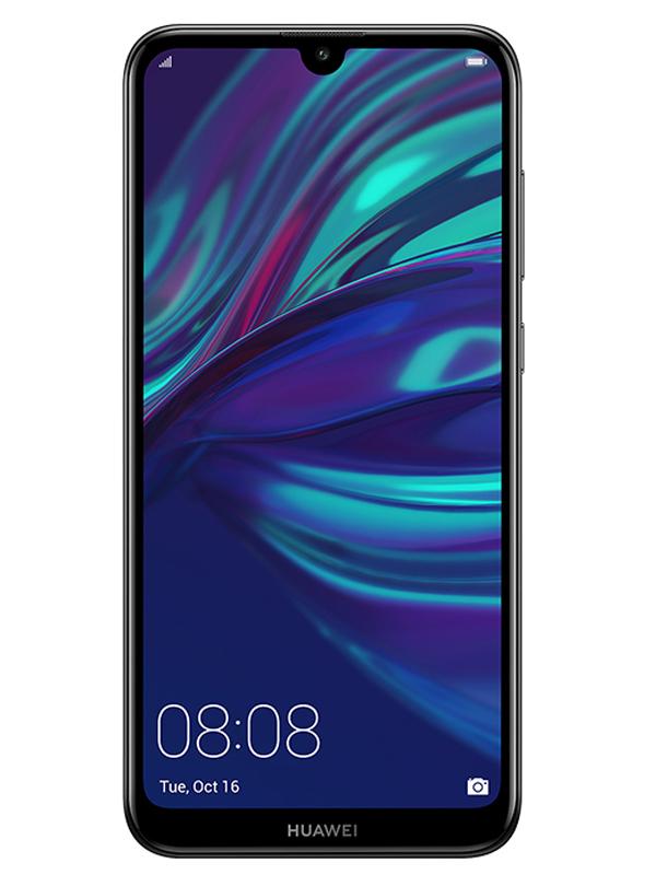 Сотовый телефон Huawei Y7 2019 Black Выгодный набор + серт. 200Р!!!