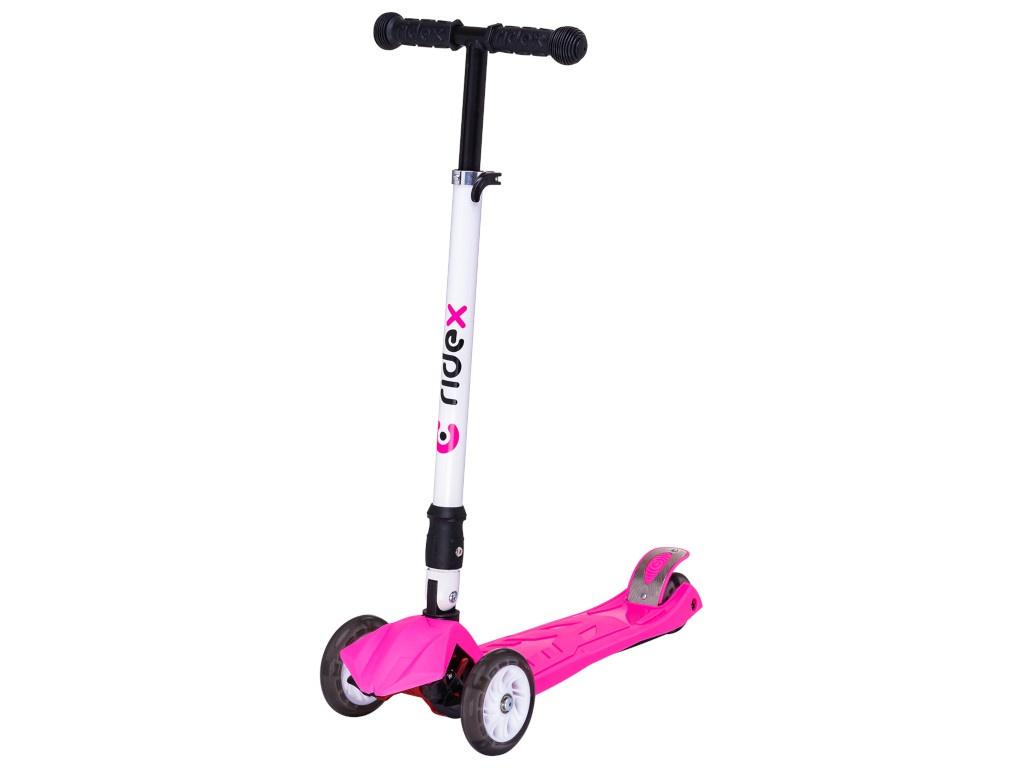 Самокат Ridex 3D Smart 120/80 Pink