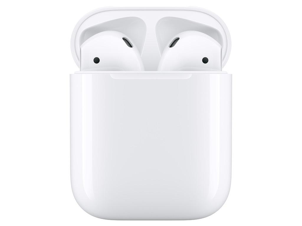 Apple AirPods (ver2) в зарядном футляре MV7N2RU/A