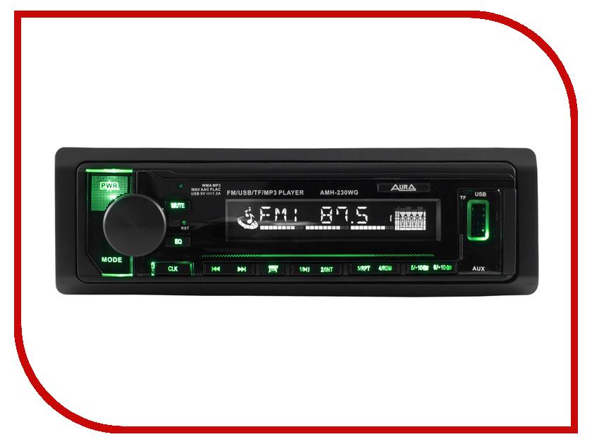 Автомагнитола Aura AMH-230WG автоакустика aura sx a525