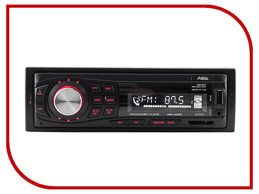Автомагнитола Aura AMH-240WG автоакустика aura sx a525