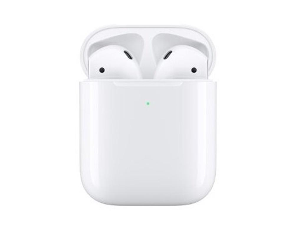 Apple AirPods (ver2) в беспроводном зарядном футляре MRXJ2RU/A