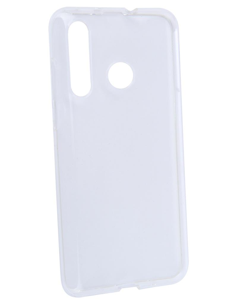 Аксессуар Чехол iBox для Huawei Nova 4 Crystal Silicone Transparent УТ000017284 аксессуар чехол для huawei p20 pro ibox crystal silicone transparent
