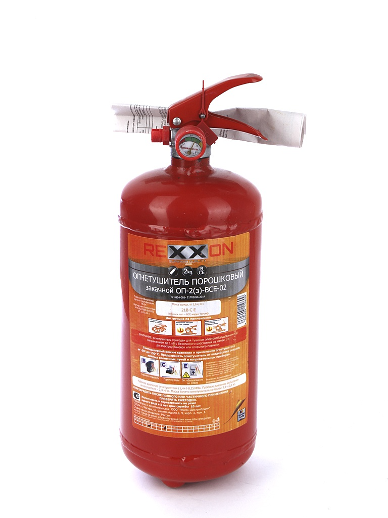 Огнетушитель Rexxon ОП-2 1-09-2-0-0