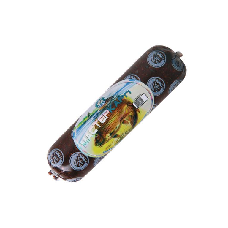 Прикормка Три кита Паста Фидерная колбаска ваниль Master Carp 330g 0031430