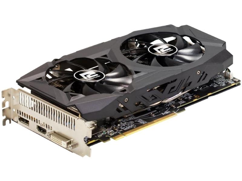 Видеокарта PowerColor Radeon RX 590 1545Mhz PCI-E 3.0 8192Mb 8000Mhz 256 bit DVI HDMI DP AXRX 8GBD5-DHD