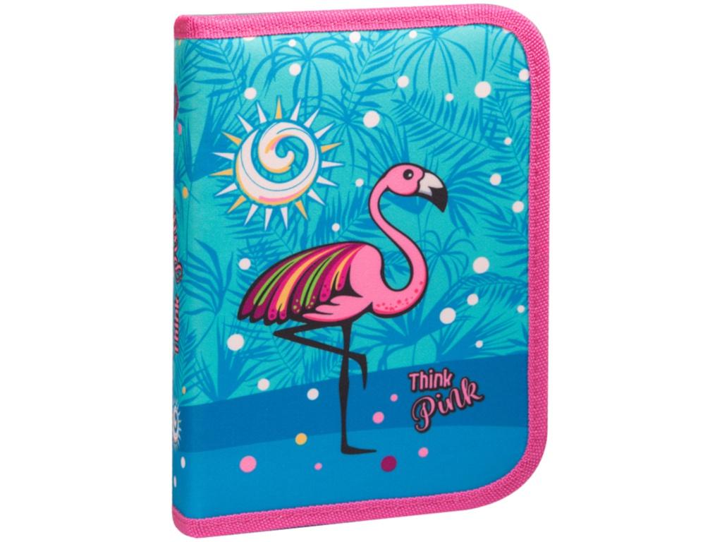 Пенал Berlingo Flamingo PK05822 flamingo print low back swimsuit