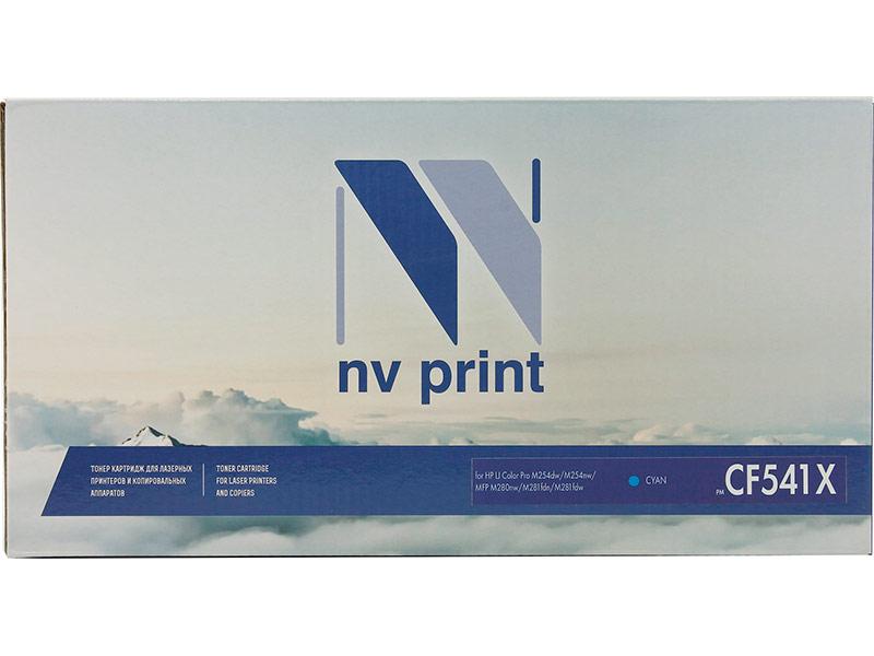 Картридж NV Print NV-CF541X Cyan для HP Color LaserJet Pro M254dw/M254nw/MFP M280nw/M281fdn/M281fdw