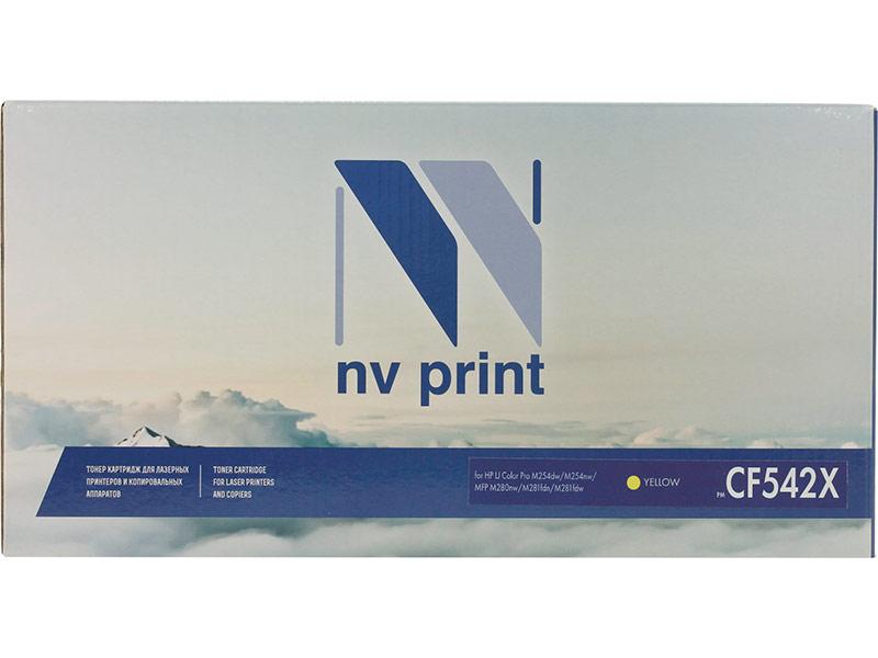 Картридж NV Print NV-CF542X Yellow для HP Color LaserJet Pro M254dw/M254nw/MFP M280nw/M281fdn/M281fdw