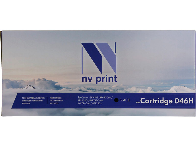 Картридж NV Print NV-046H Black для Canon i-SENSYS LBP653Cdw/LBP654Cx/MF732Cdw/MF734Cdw/MF735Cx