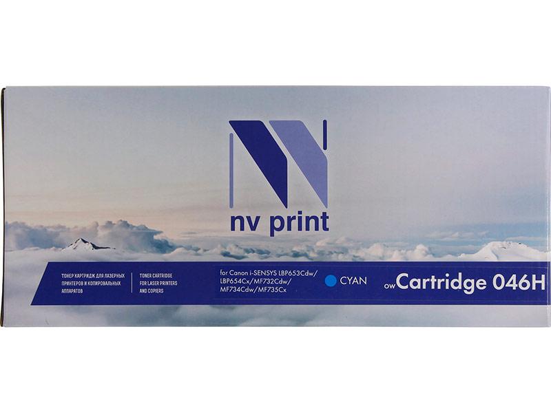 Картридж NV Print NV-046H Cyan для Canon i-SENSYS LBP653Cdw/LBP654Cx/MF732Cdw/MF734Cdw/MF735Cx