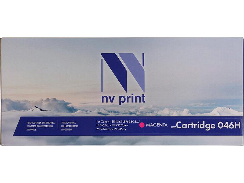 Картридж NV Print NV-046H Magenta для Canon i-SENSYS LBP653Cdw/LBP654Cx/MF732Cdw/MF734Cdw/MF735Cx