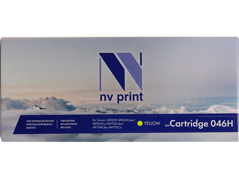 Картридж NV Print 046H Yellow для Canon i-SENSYS LBP653Cdw/LBP654Cx/MF732Cdw/MF734Cdw/MF735Cx