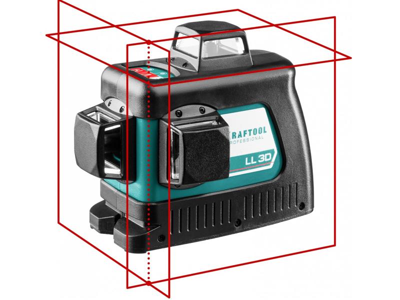 Нивелир Kraftool LL-3D-3 34640-3