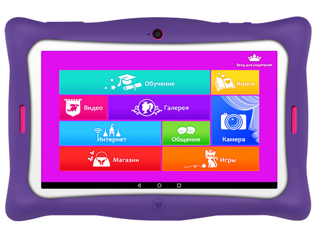 Планшет TurboKids Princess Wi-Fi, 16 Гб Pink