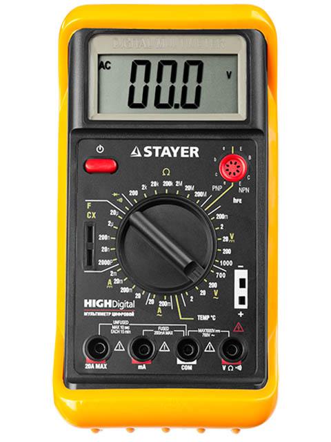 Мультиметр Stayer Expert HighDigital 45320-T