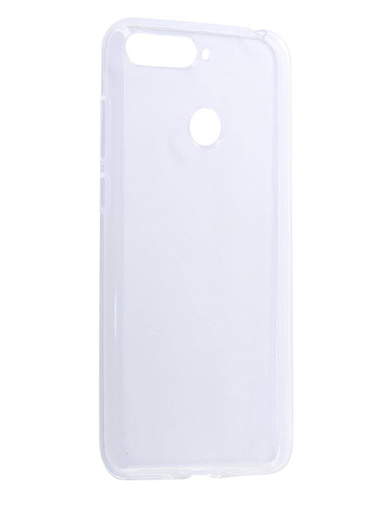 Аксессуар Чехол LuxCase для Huawei Y6 Prime 2018 TPU Transparent 60096 аксессуар чехол для nokia 8 1 luxcase tpu transparent 60106