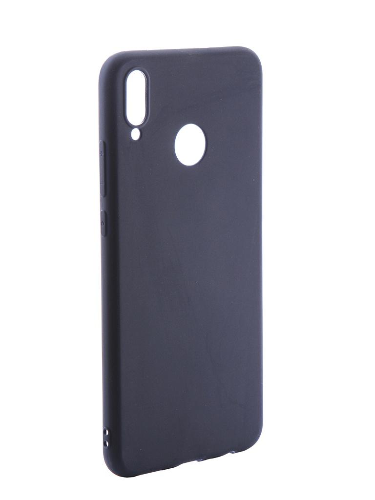 Аксессуар Чехол LuxCase для Honor 8X Soft Touch Premium LS Blue 69002