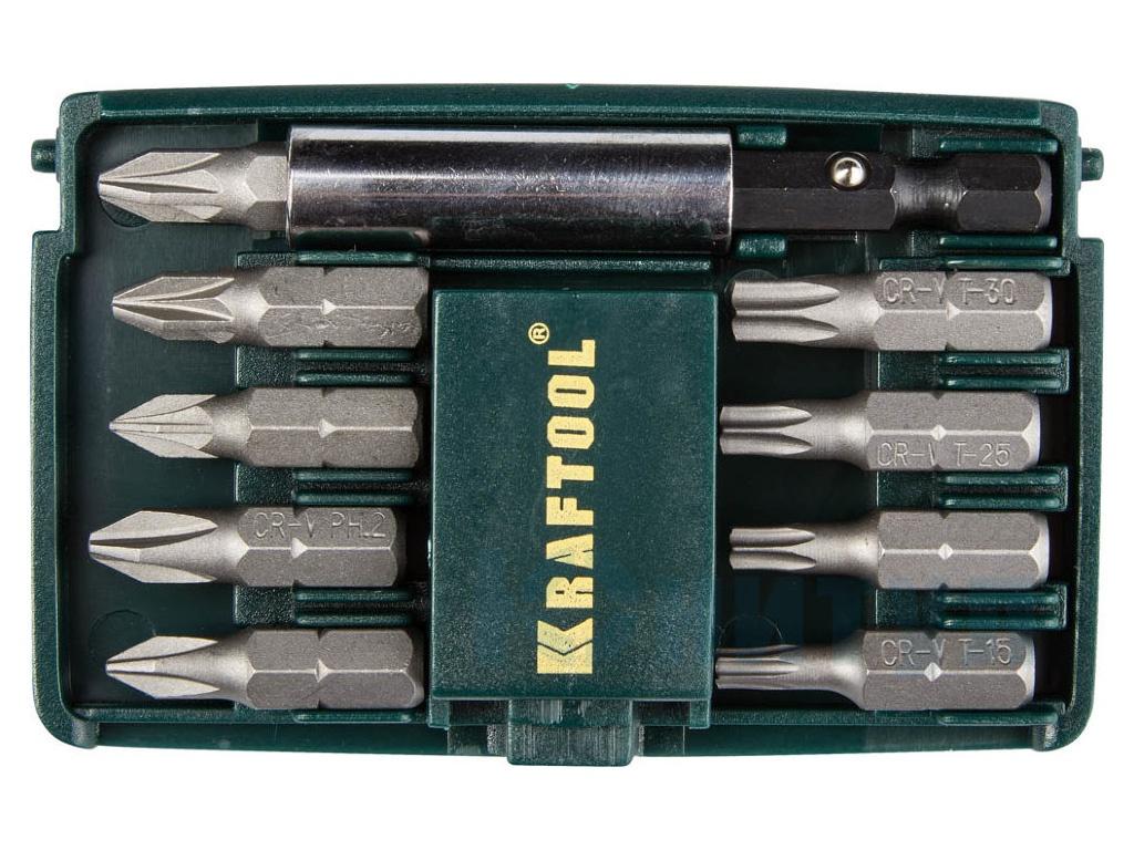 Набор бит Kraftool Compact-10 26130-H10