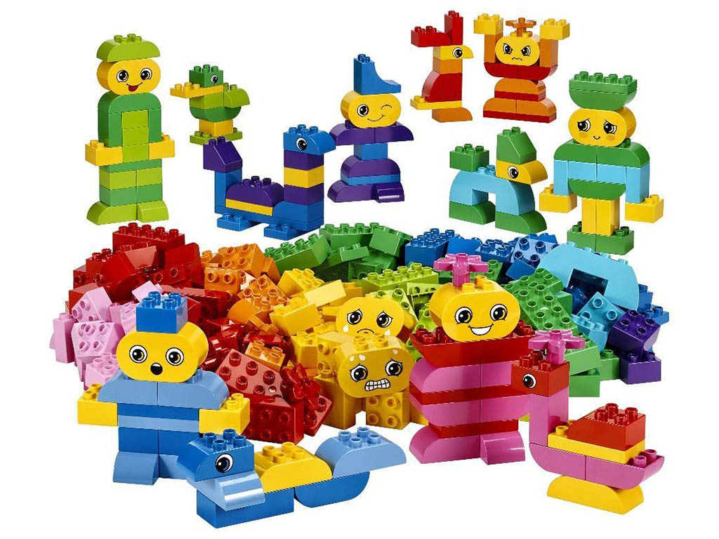 Конструктор LEGO Education PreSchool DUPLO Кирпичики для творческих занятий 45019