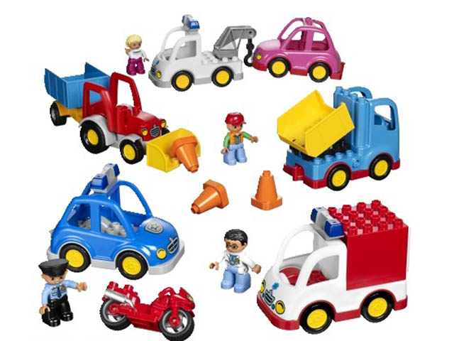 Конструктор Lego Duplo Муниципальный транспорт 45006