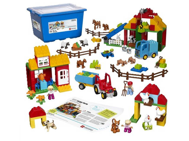 Конструктор LEGO Education PreSchool DUPLO Большая ферма 45007