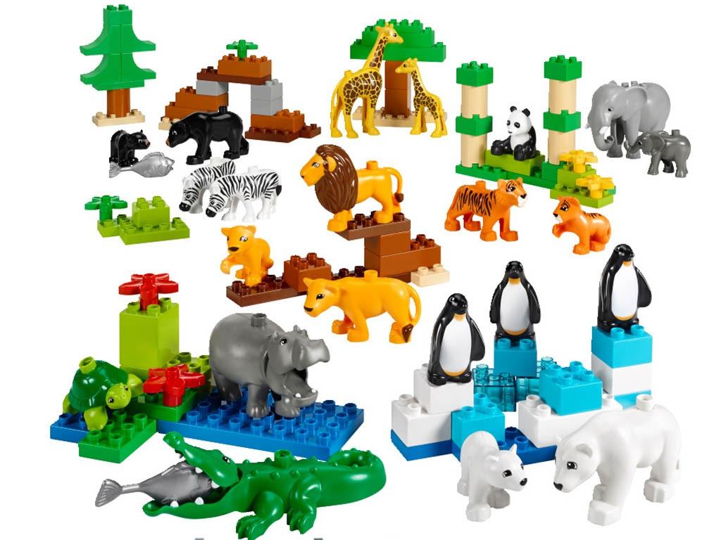 Конструктор Lego Duplo Дикие животные 45012