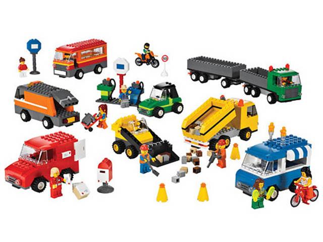 Конструктор Lego Общественный и муниципальный транспорт 9333 фото