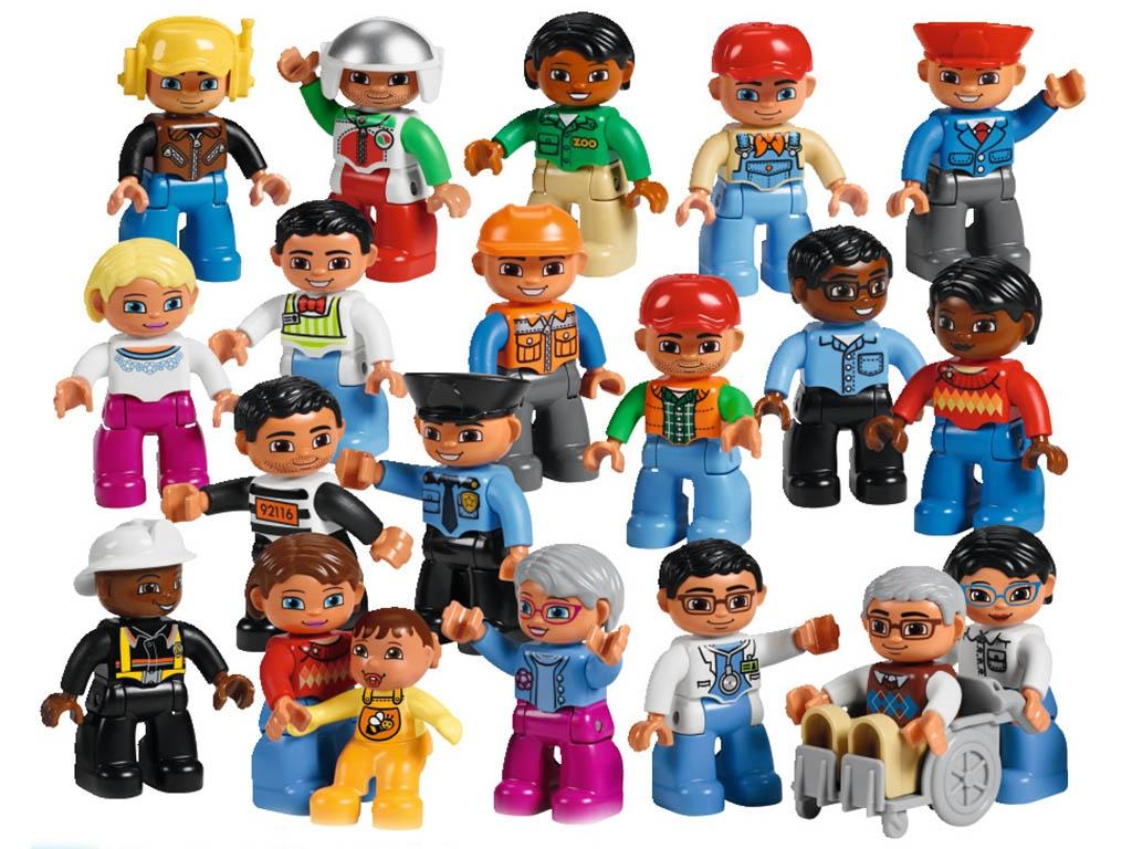 Конструктор Lego Duplo Городские жители 45010