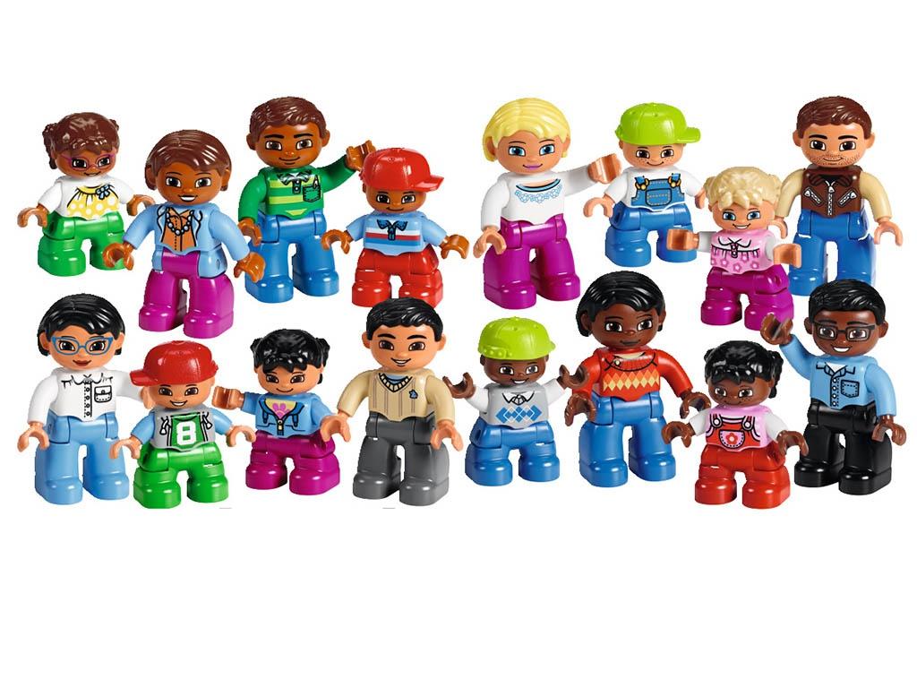 Конструктор Lego Duplo Люди мира 45011