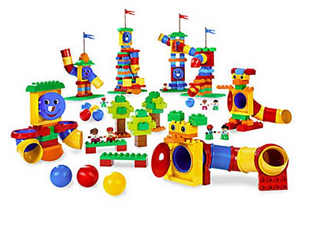 Конструктор LEGO Education PreSchool DUPLO Набор с трубами 9076