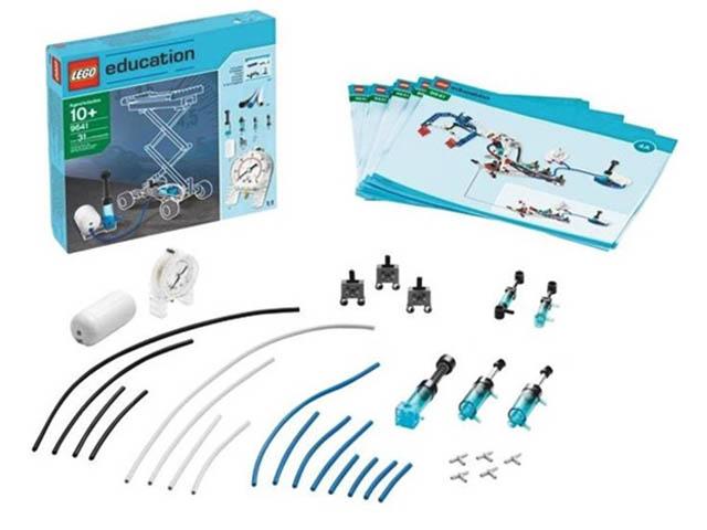Конструктор Lego Education Дополнительный набор Пневматика 9641