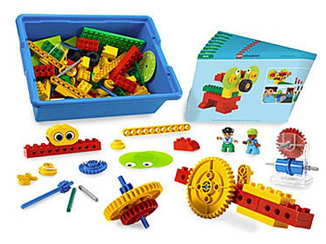 LEGO Education Machines and Mechanisms Первые механизмы 9656
